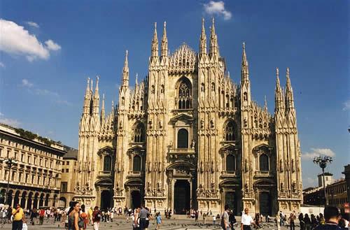 Milán arquitectura e historia