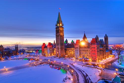 Naturaleza y modernidad se combinan en Ottawa