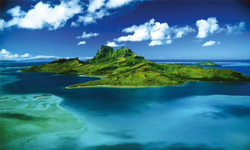Bora Bora, un paraíso de la Polinesia Francesa
