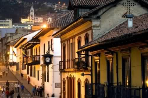 La Candelaria es el barrio más antiguo de Bogotá