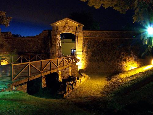 la histórica colonia del sacramento