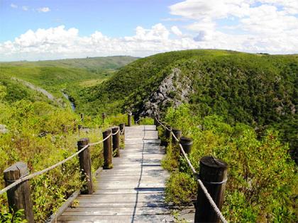 Turismo aventura en la Quebrada de los Cuervos