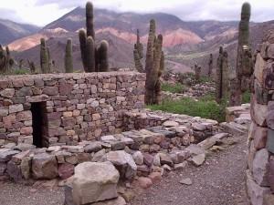 Tilcara, entrada hacia Humahuaca