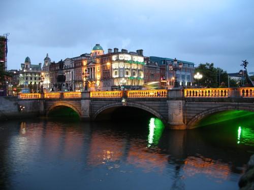 Ciudad de Dublín en Irlanda