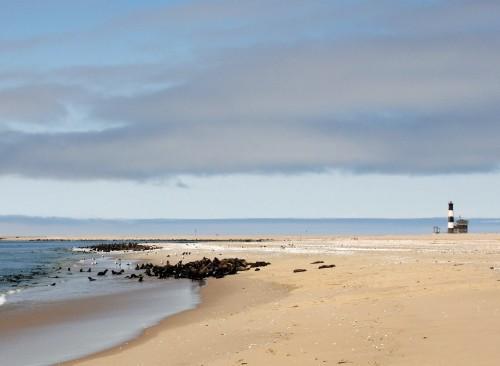 Walbis Bay en Namibia