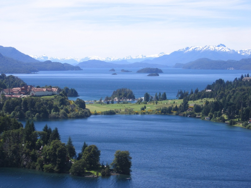 Bariloche, fríos paisajes encantados de Argentina